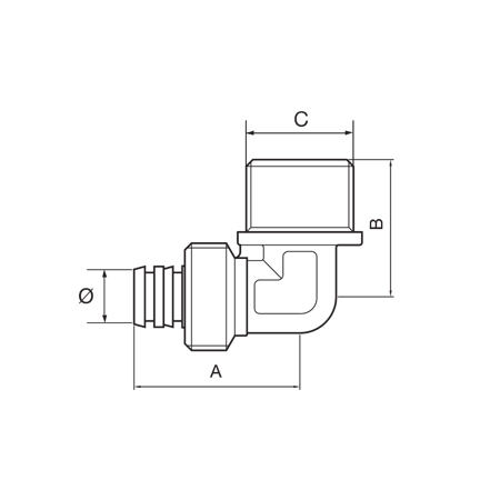 Brass fittings / Multilayer pipe fitting – Ital-Tap