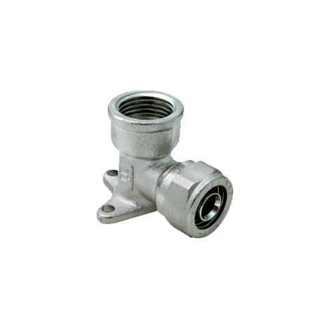 90° FLANGED ELBOW PIPE FITTING FOR ANCHORING